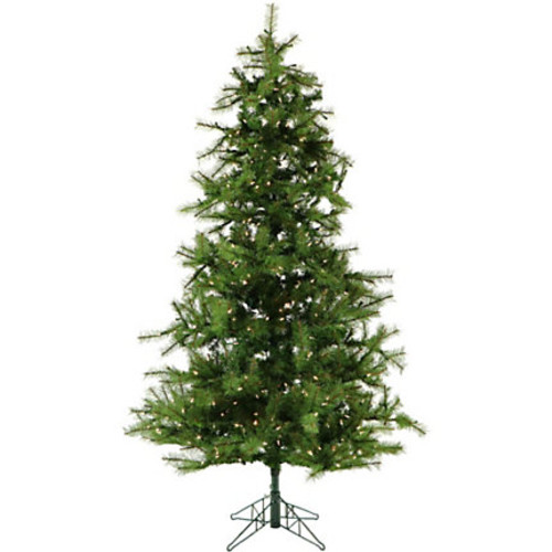 Fraser Hill Farm Artificial Noble Fir Christmas Tree With Smart String Lighting And EZ Connect, 7.5'