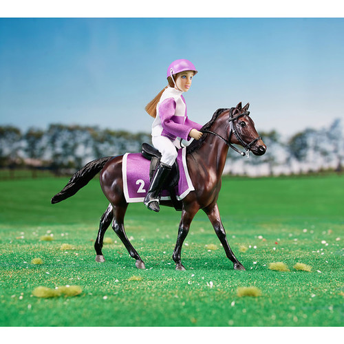 Breyer Race Horse and Jockey Set