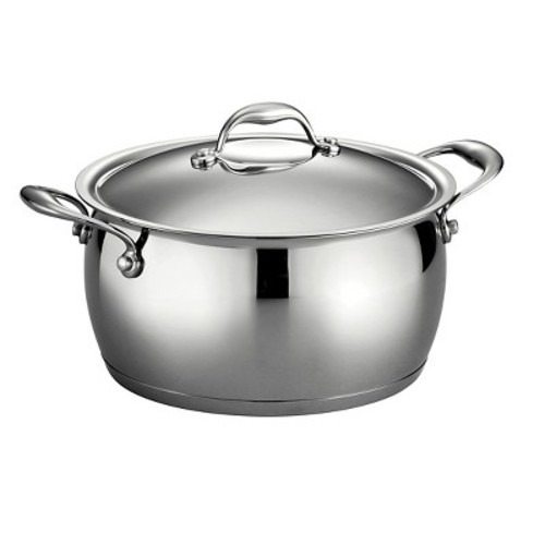 Tramontina Gourmet Domus Stainless Steel 6 Qt Covered Sauce Pot