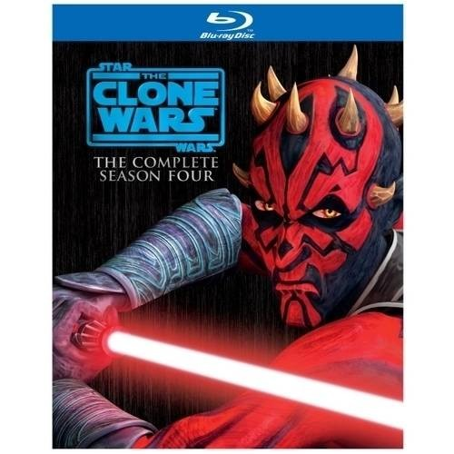 Star Wars: The Clone Wars: The Complete Season Four (Blu-ray)