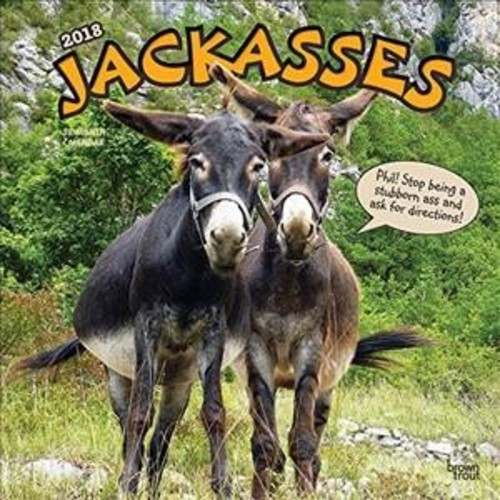 Jackasses 2018 Calendar (Paperback)