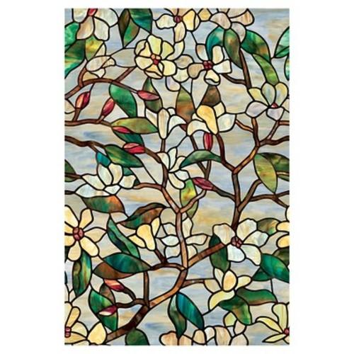 Artscape 24 in. x 36 in. Summer Magnolia Decorative Window Film