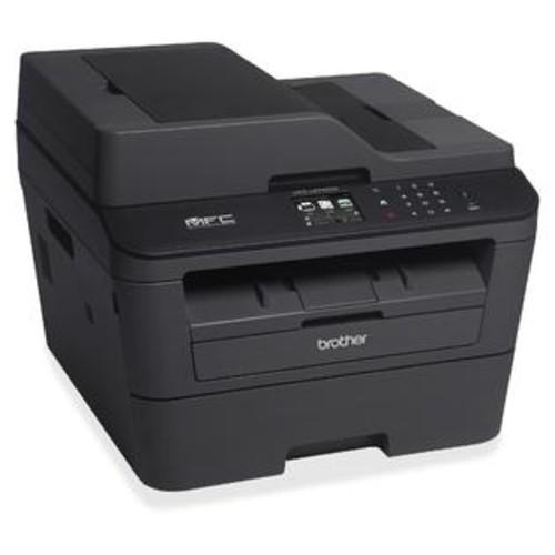 Brother MFC-L2740DW Laser Multifunction Printer - Monochrome - Plain Paper Print - Desktop - Copier/Fax/Printer/Scanner - 3...