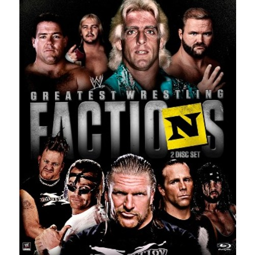 WWE: Wrestling's Greatest Factions [2 Discs] [Blu-ray] [2014]