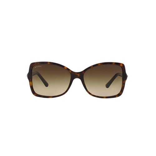 BVLGARI BV8139B 56 Brown & Tortoise Sunglasses