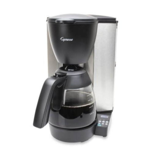 Capresso MG600 Plus 10-Cup Stainless Steel Coffee Maker