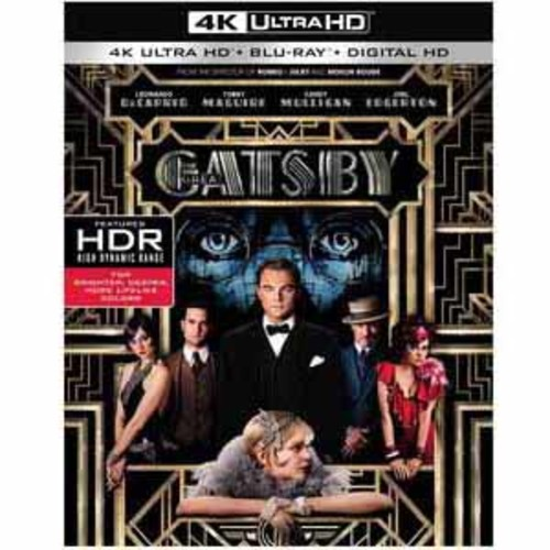 The Great Gatsby [4K UHD] [Blu-Ray] [Digital HD]