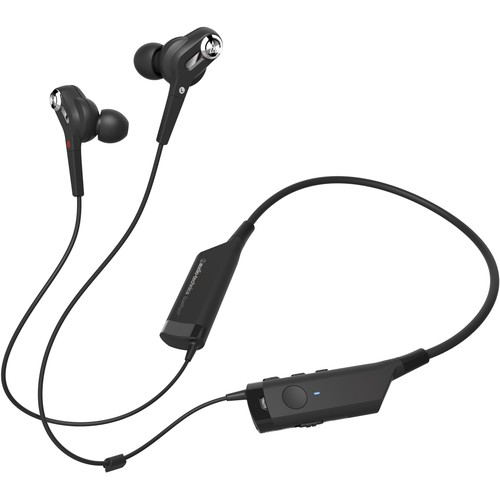 Audio-Technica QuietPoint Active Noise-Cancelling Wireless In-Ear Hea