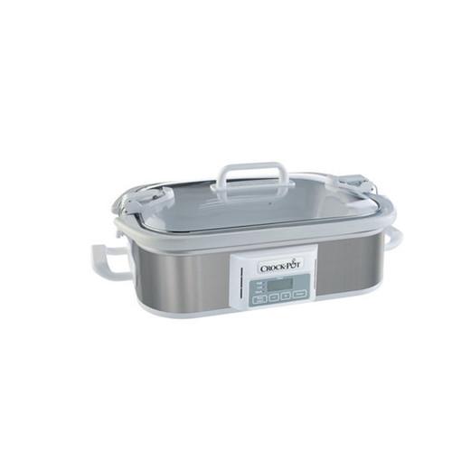 Crock-Pot. 97097776M 3.5 Quart Programmable Casserole Crock Slow Cooker