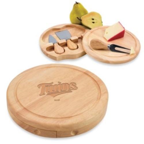 Picnic Time MLB Minnesota Twins Brie Cheese Board Set