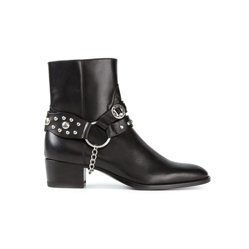 SAINT LAURENT 'Wyatt' Ankle Boots