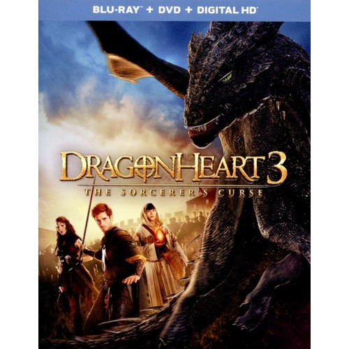 Dragonheart 3: The Sorcerer's Curse [Blu-ray] [2015]