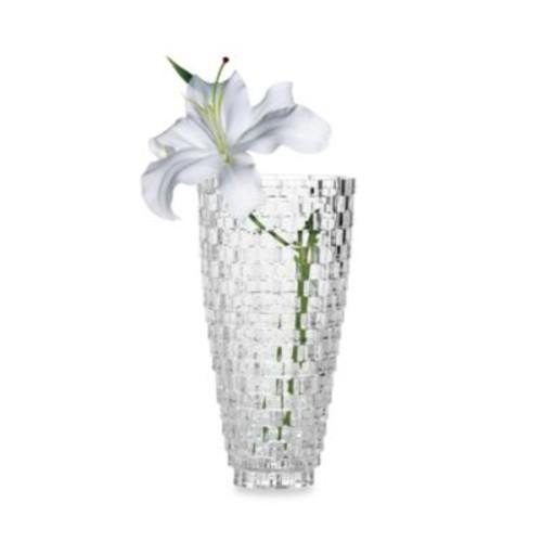 Mikasa Palazzo Crystal Glass 12-Inch Vase