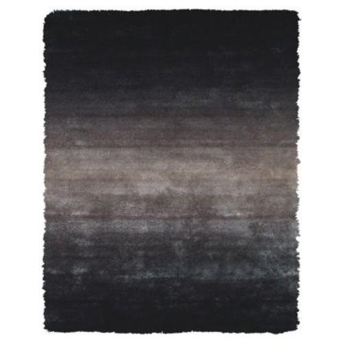 Varick Gallery Sapienza Black Area Rug; 4'9'' x 7'6''
