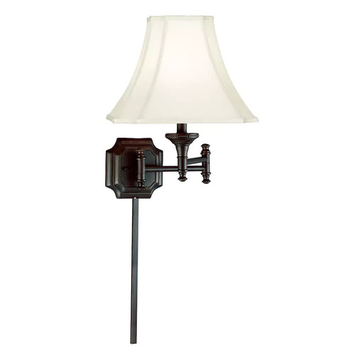 Kenroy Home 33054BBZ Wentworth Swingarm Swing-Arm Wall Sconce, Burnish