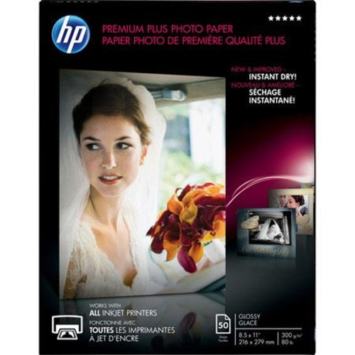 HP CR664A Glossy Premium Photo Paper (8.5x11