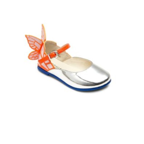 Baby's, Toddler's & Kid's Mini Chiara Butterfly Leather Mary Jane Flats