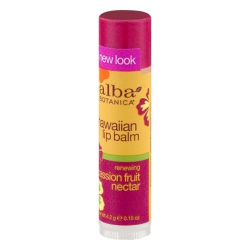 Alba Botanica Hawaiian, Passion Fruit Nectar Lip Balm, 0.15 Ounce [0.15 oz]