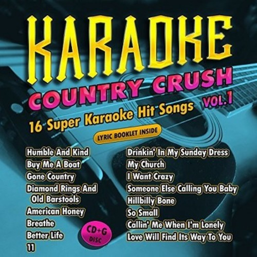 Karaoke Cloud - Country Crush Vol. 1