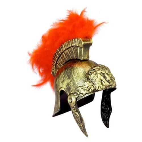 Gold Roman Helmet Adult Halloween Costume Accessory