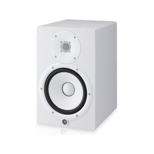 Yamaha HS8 (White) 2-way powered studio monitor with 8