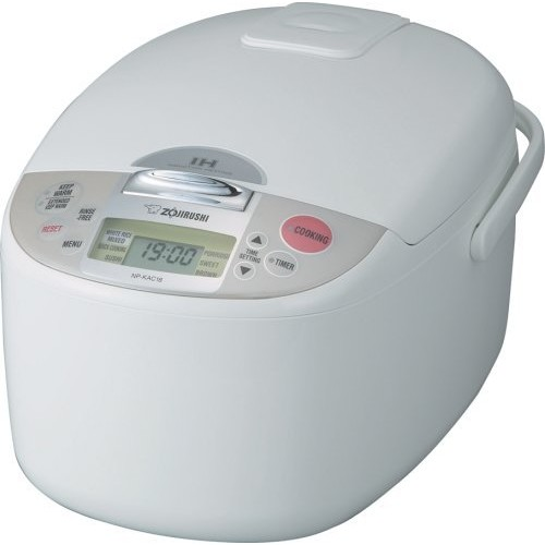 Zojirushi NP-KAC18 10-Cup Rice Cooker and Warmer with Induction Heating System