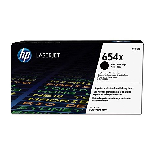 HP CF330X 654X High Yield Original LaserJet Toner Cartridge Black