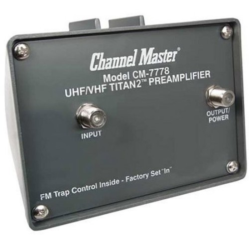 Channel Master CM-7778 TITAN 2 Medium Gain Preamplifier