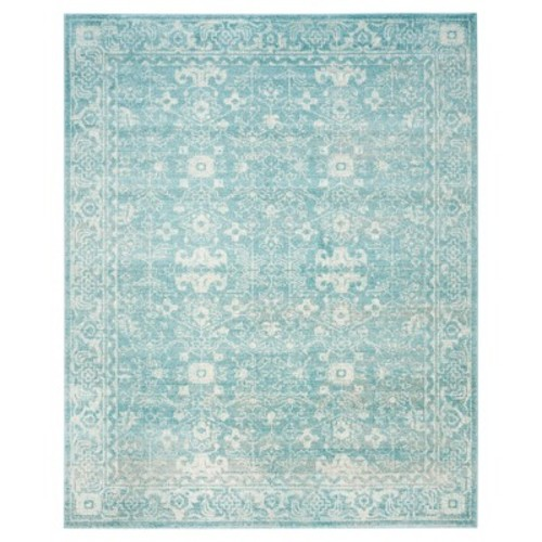 Safavieh Evoke Light Blue/Ivory 6 ft. 7 in. x 9 ft. Area Rug