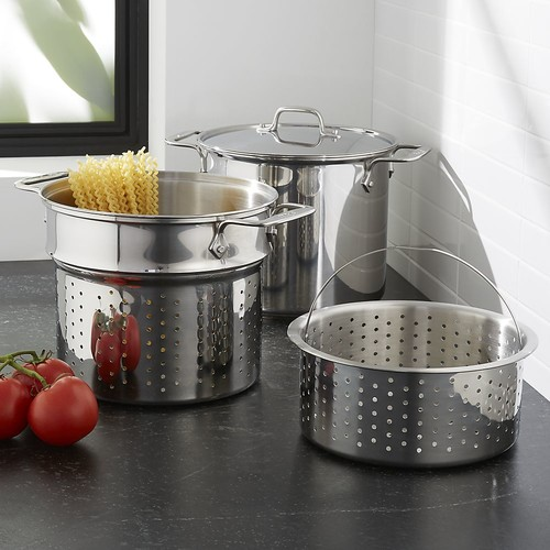 All-Clad  8-Qt. Stainless Steel Multi Cooker with Lid