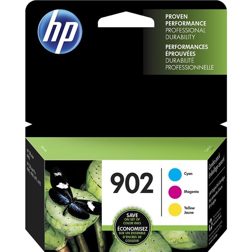 HP - 902 3-pack Ink Cartridges - Multicolor