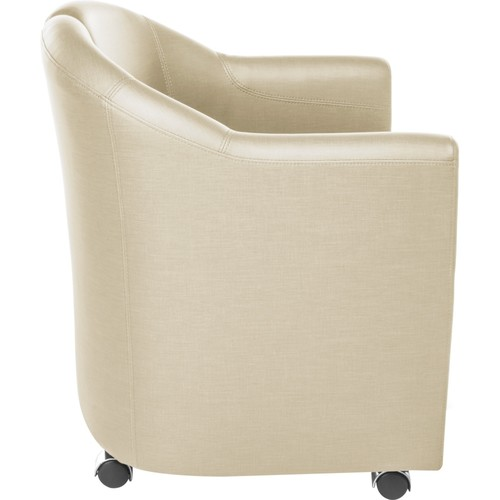 OFM - Contour Series Mobile Club Chair - Linen