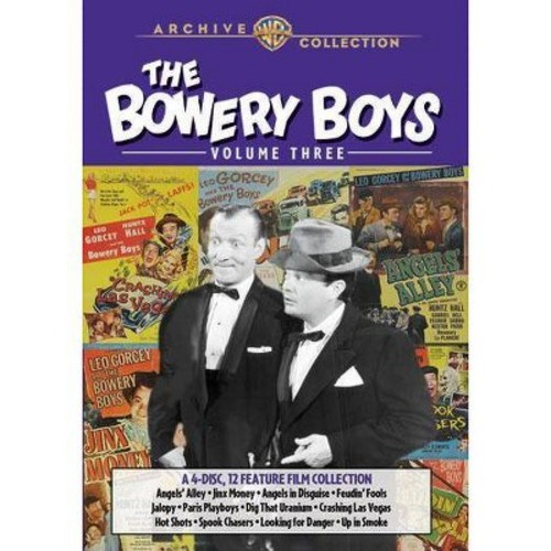 The Bowery Boys, Vol. 3 [4 Discs] [DVD]