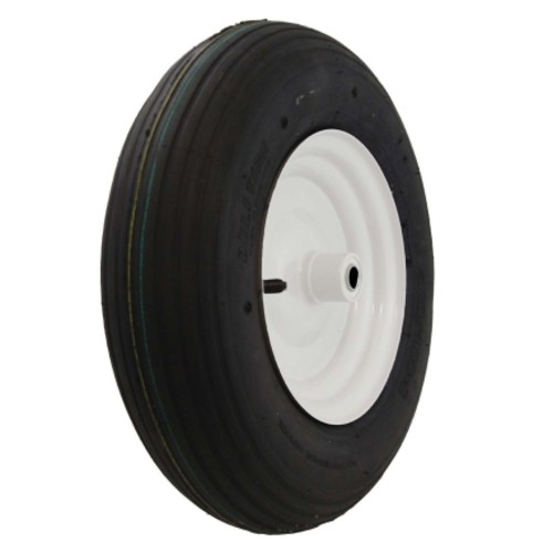 Marathon Wheelbarrow Tire 16 in. Dia. 500 lb. Plastic(20305)