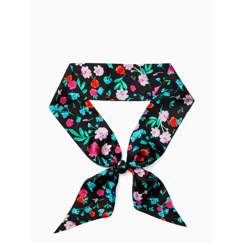 greenhouse silk skinny scarf