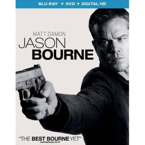 Jason Bourne (Blu-ray + DVD +Digital)