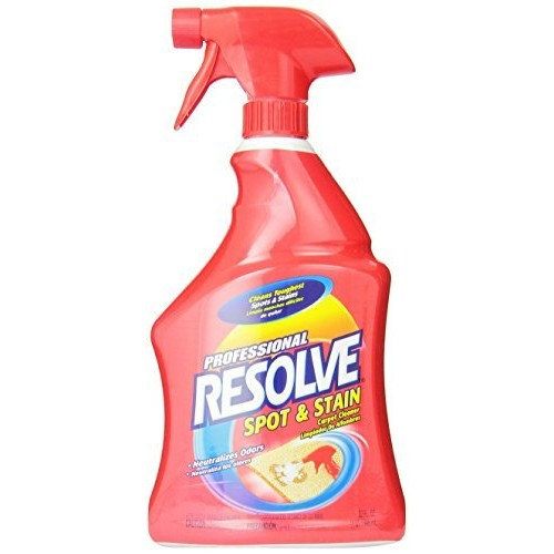 Resolve Professional Strength Spot and Stain Carpet Cleaner, 32 oz [32 oz]