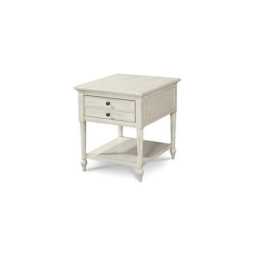 Kendall 2-Drawer Nightstand, White