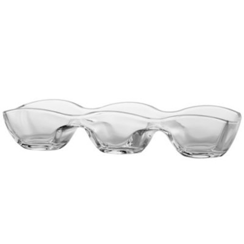 Dailyware 3-Section Glass Server