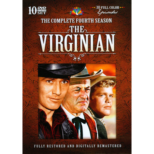 The Virginian: The Complete Fourth Season [DVD]