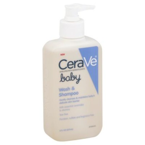 CeraVe Baby 8 oz. Wash and Shampoo