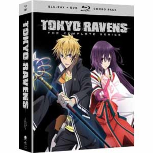 Tokyo Ravens: The Complete Series [Blu-Ray] [DVD]