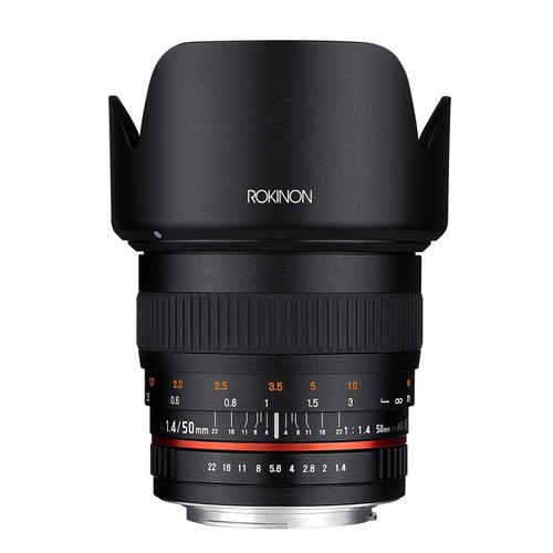 Rokinon 50mm F1.4 Lens for Canon