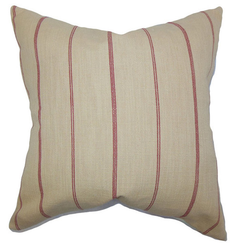 Fairfax Stripes Throw Pillow Cover