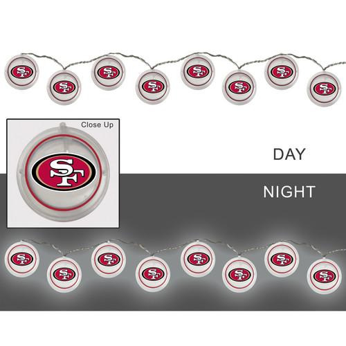 NFL String Lights - San Francisco 49ers