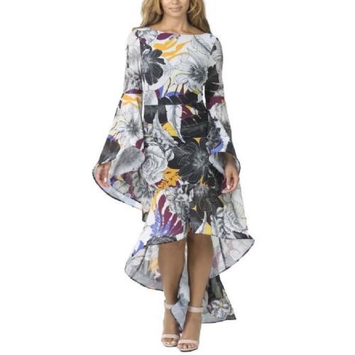 Floral Mesh Dress