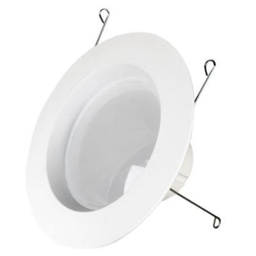 Feit Electric 75W Equivalent Soft White BR30 5/6 in. Dimmable HomeBrite Bluetooth Smart LED Retrofit Kit (Case of 4)