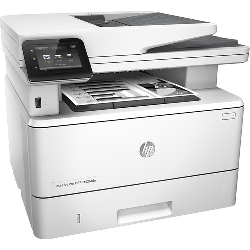 HP - LaserJet Pro m426fdn Black-and-White All-In-One Printer - Gray