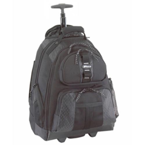 Targus Sport Rolling Backpack Case Designed for 15.6-Inch Notebooks, Black (TSB700)