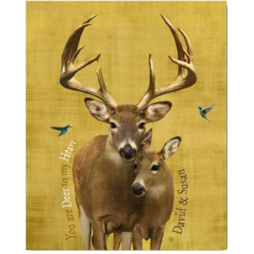 Kennedys Personal Prints Whimsical Wildlife Deer Print
